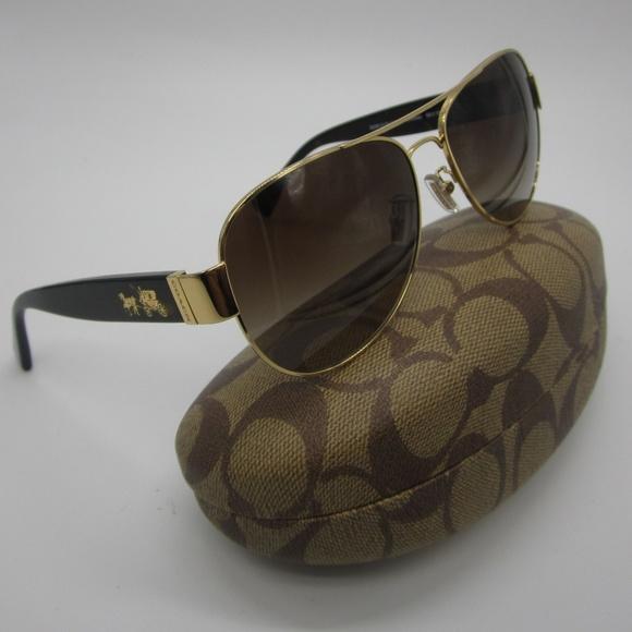 520c8b85c5 ... discount code for coach hc7059 l138 aviator sunglasses sti848 e4084  99b04